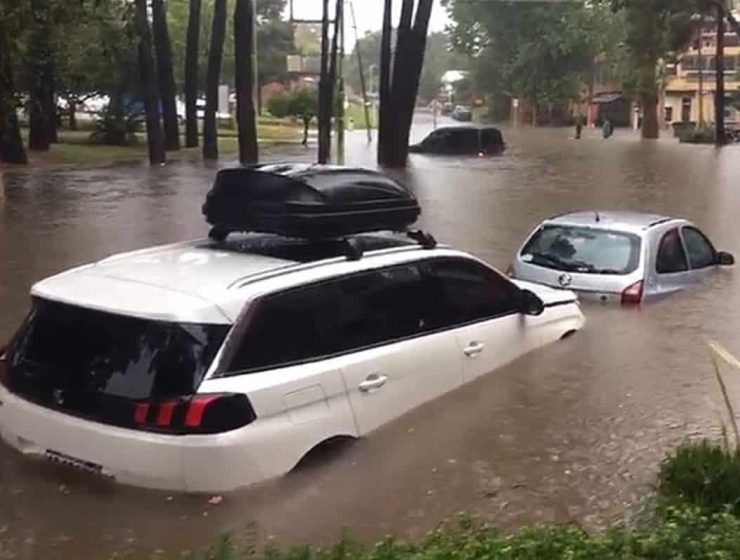 pinamar inundacion