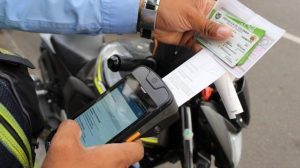 ticket multa