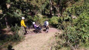 sillas de ruedas adaptadas parques nacionales