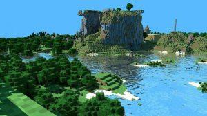 minecraft island