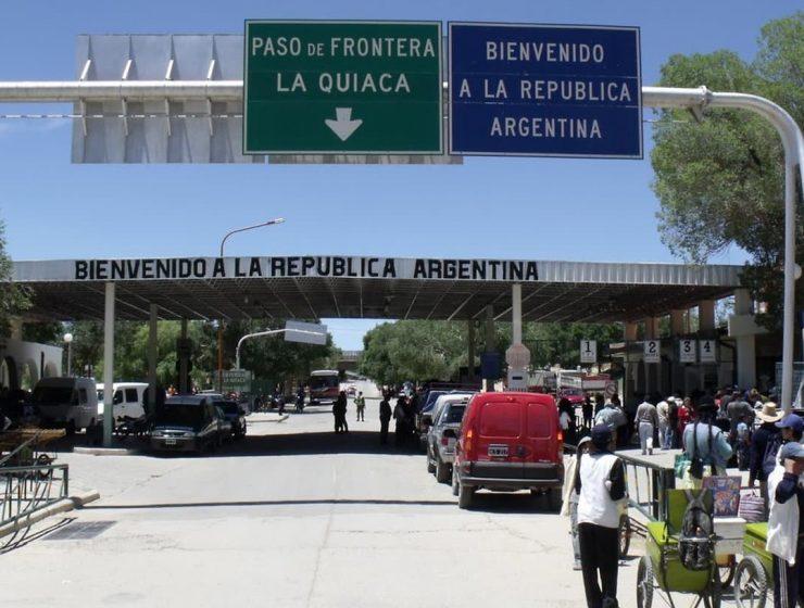 bloqueo pasos terrestres argentina