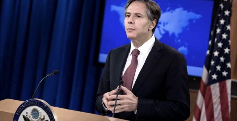 El secretario de Estado de EEUU, Antony Blinken