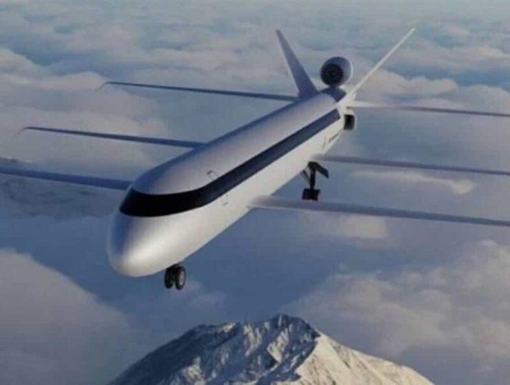 avion con 3 alas