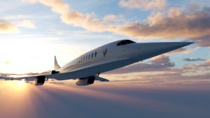 avion supersónico