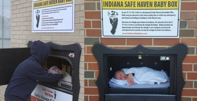 buzon para abandonar bebes
