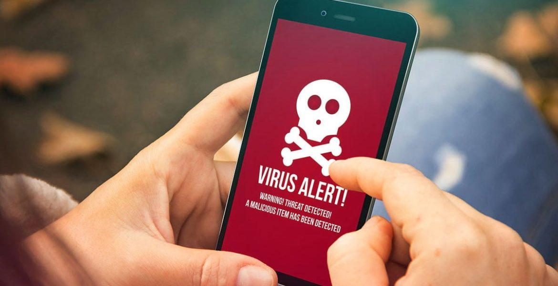 aplicaciones con virus