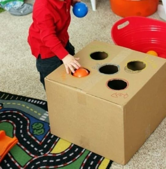 juguetes montessori caseros