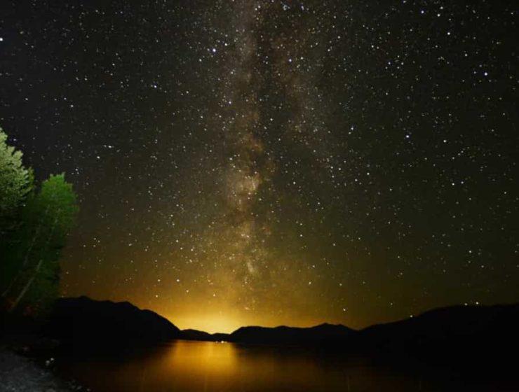 disfrutar el cielo nocturno