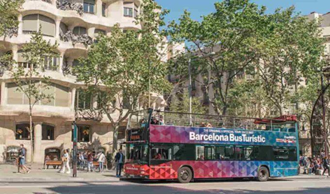bus turistico de barcelona
