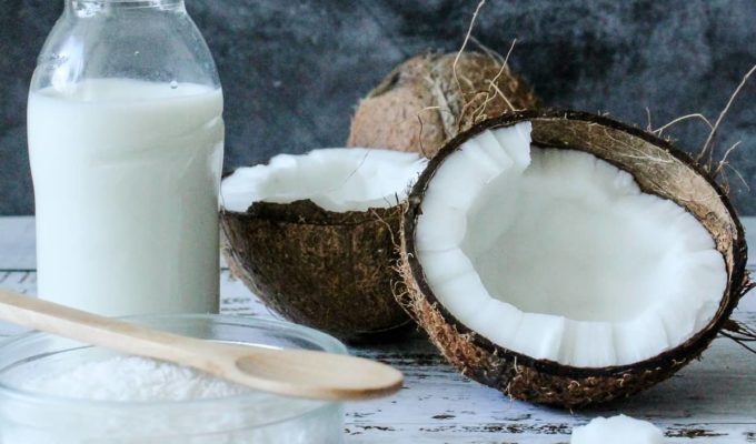 propiedades de la leche de coco